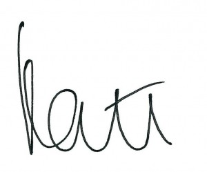 kate james signature