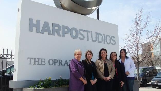 aAt Harpo Studios Chicago