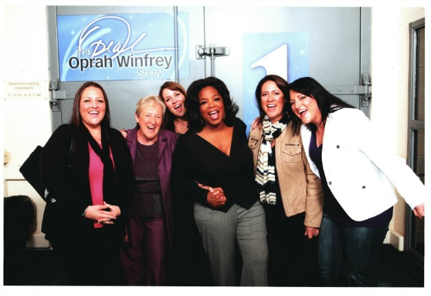 aBackstage with Oprah